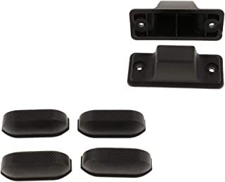 Baosity 6 Packs Luggage Bag Accessories Suitcase Feet Bracket, Luggage Bottom Footstand Replacement (R+J)