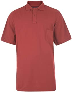 Kam Poly Cotton Soft Fabric Plain Basic Polo Shirt in 12 Colors, Size 2XL to 8XL