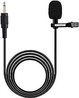 میکروفون یقه میکروفن Lavalier هدست یقه دار میکروفون SHIDU 1 ، فرستنده