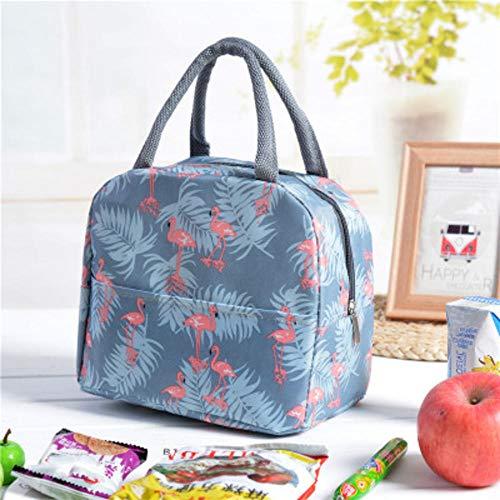 NXSP Cactus-tas, draagbaar, geïsoleerd, Oxford, lunchtas, voor levensmiddelen, picknick, voor vrouwen en kinderen, functioneel motief, koelbox, lunchbox