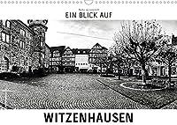 Ein Blick auf Witzenhausen (Wandkalender 2022 DIN A3 quer): Ein ungewohnter Blick in harten Schwarz-Weiss-Bildern auf Witzenhausen (Monatskalender, 14 Seiten )