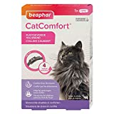 Beaphar - CATCOMFORT - Collare calmante ai feromoni per Gatti e Gattini - Riduce Lo Stress e i Problemi comportamentali Senza dipendenza né sonnolenza - 1 Collana da 35 cm