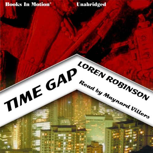 Time Gap audiobook cover art