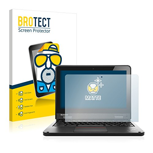 BROTECT 2X Entspiegelungs-Schutzfolie kompatibel mit Lenovo Yoga 11e Chromebook Bildschirmschutz-Folie Matt, Anti-Reflex, Anti-Fingerprint