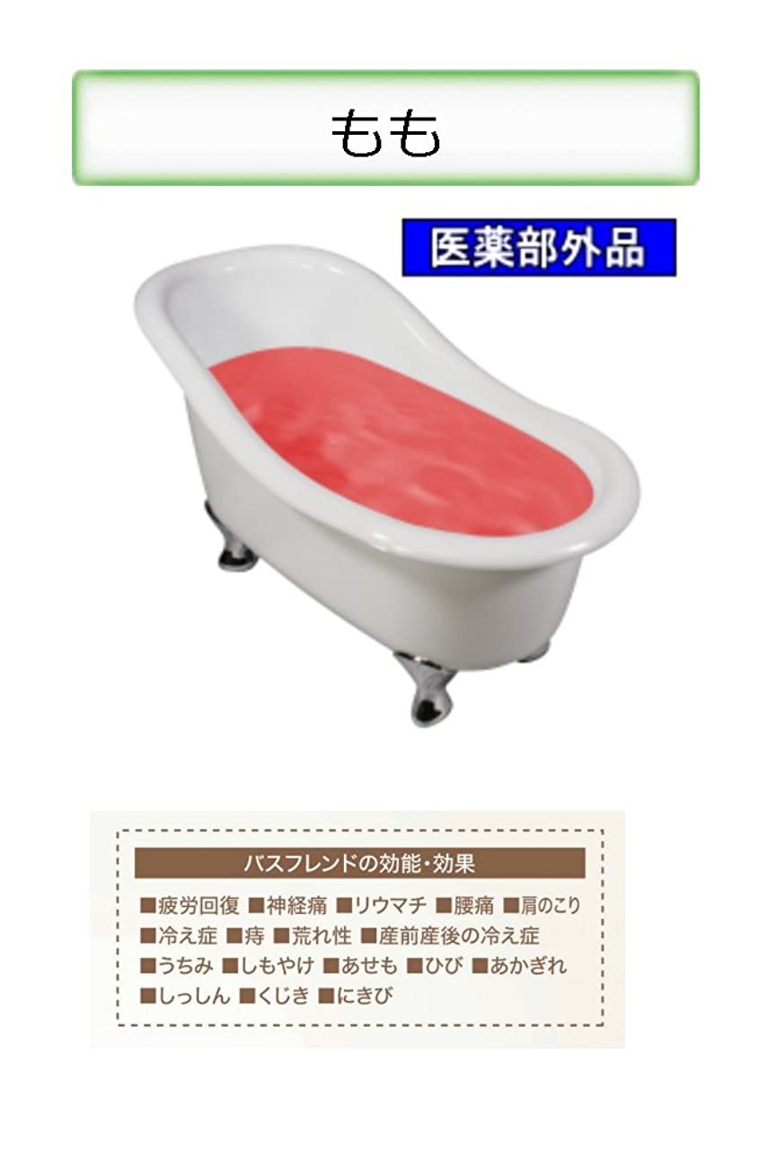 オレンジ人類概して薬用入浴剤 バスフレンド/伊吹正 (もも, 17kg)