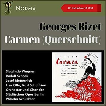 "Georges Bizet: Carmen (Querschnitt) (10"" Album of 1954)"
