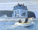 Get Custom Art Edward Hopper – The Bootleggers,