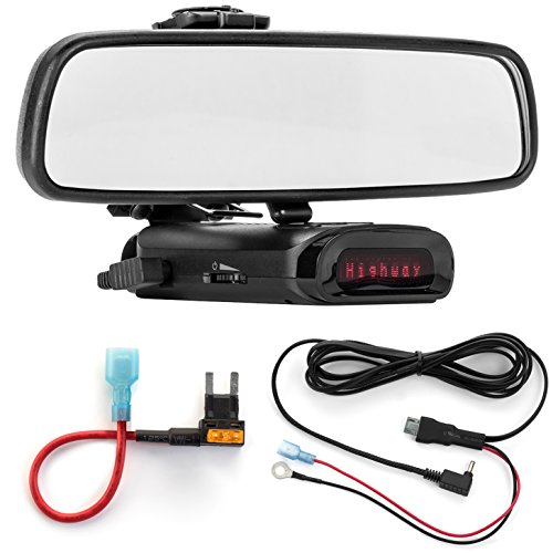 Radar Mount Mirror Mount Bracket + Direct Wire Power Cord + Mini Fuse Tap for K40 (3001410)