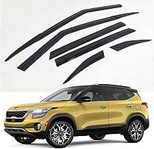 Autocarkd Smoked Side Window Visor rain Guards 4p for All New 2021 Chevrolet Trailblazer