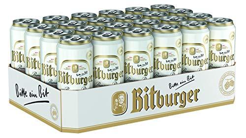 2 x Bitburger Pilsener 24x0,5L = 48 latas 4.8% Vol.alc.