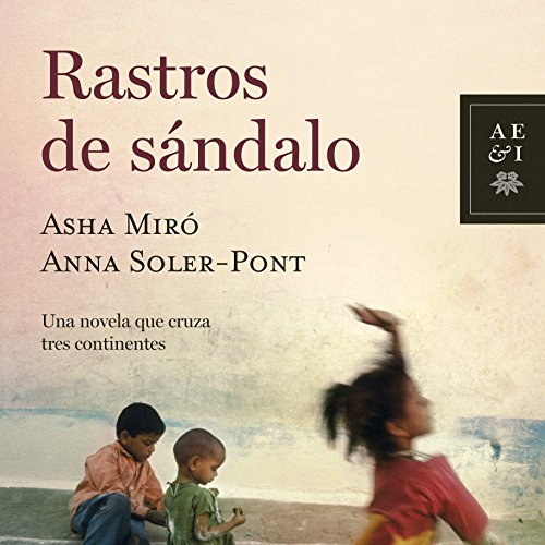 Rastros de sándalo audiobook cover art