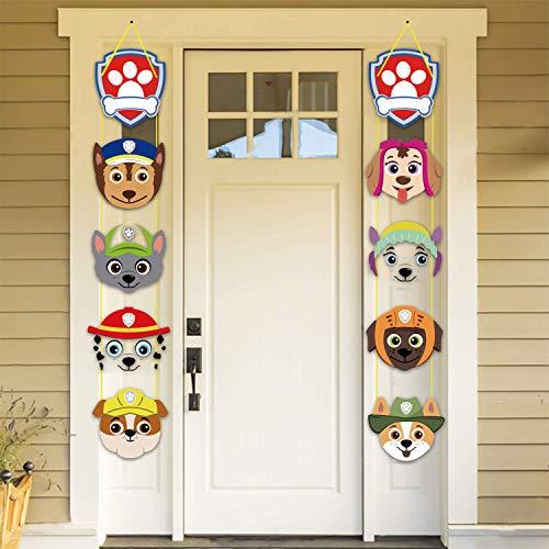 Paw Dog Patrol - Decoración para fiestas, diseño de la Patrulla Canina