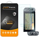 (3 Pack) Supershieldz Designed for Nintendo Switch Tempered Glass Screen Protector, 0.33mm, Anti Scratch, Bubble Free