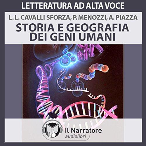 Storia e geografia dei geni umani audiobook cover art