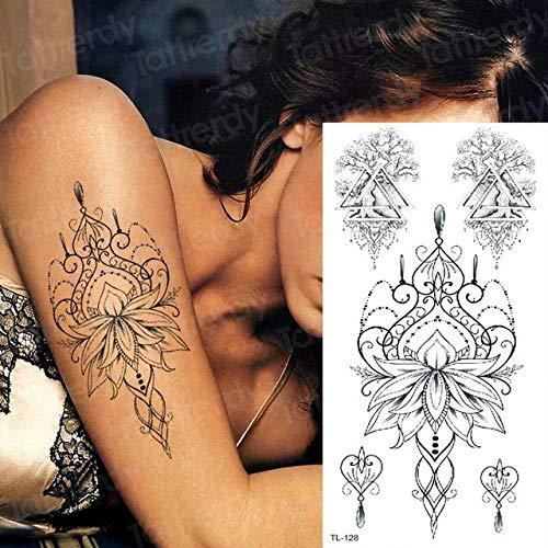 Handaxian 3pcs Tatouage d'art corporel 3pcs-25