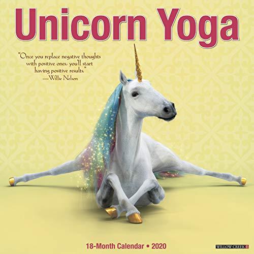 Unicorn Yoga 2020 Wall Calendar