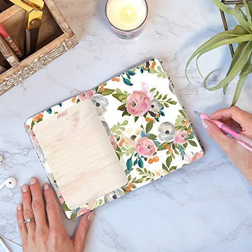 "Monthly Pocket Planner 2021 in Bella Flora by Orange Circle Studio - 5"" x 7"
