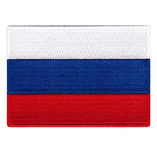 UKRAINE FLAG PATCH UKRAINIAN EMBLEM EMBROIDERED RUSSIA NATIONAL New