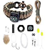 Last Man The Ultimate Paracord Survival Kit Bracelet Survival Gear