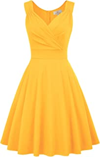 Best vintage style summer dresses Reviews
