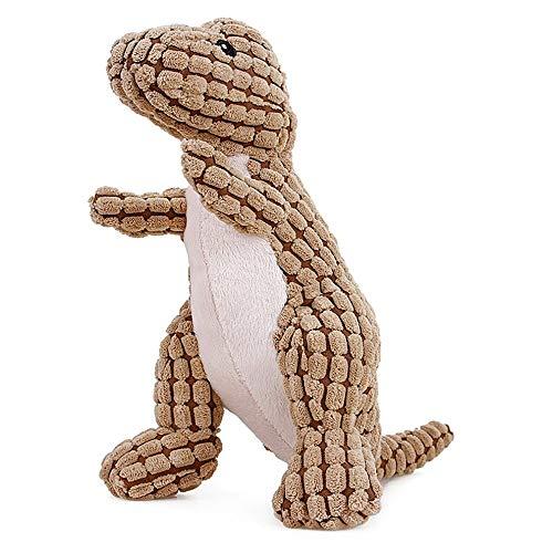 WLLBT Creative Pet Toy Welpen Plüsch Spielzeug Maiskerne gefüllt Dinosaurier Gesang Form Spielzeug Katze Kauspielzeug