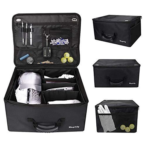 Timechee Golf Trunk Organizer, Waterproof Car Golf Locker Golf Supplies Trunk Organizer to Store Golf Accessories, Easy Storage...