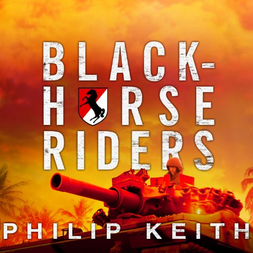 Blackhorse Riders audiobook cover art