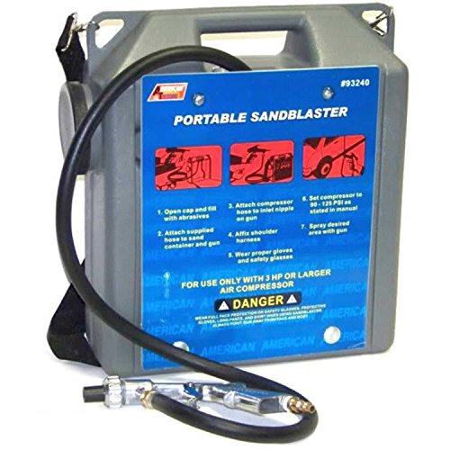 30 Lb Portable Air Sandblaster Air Tools Sand Blaster With Hose And Gun 5ft Hose
