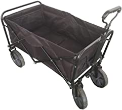 Folding camping multi-function shopping cart R-2022 Black