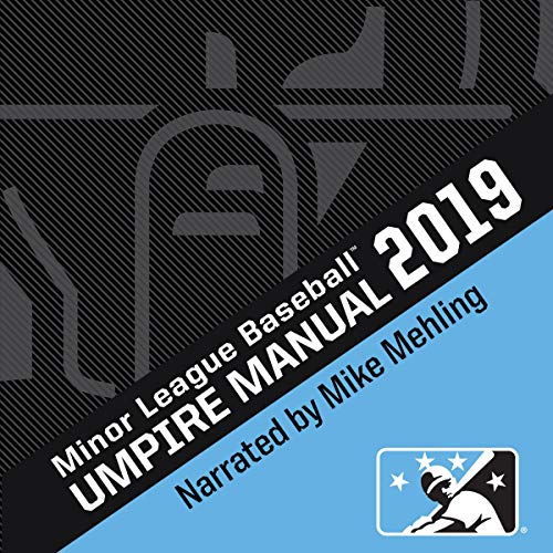 2019 Minor League Baseball Umpire Manual Titelbild