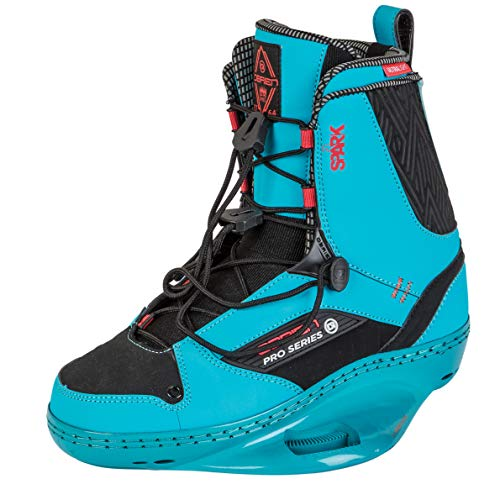 Obrien Womens Spark Pro Series Wakeboard Bindings 2019 - Blue 3/6 UK