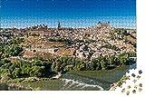 zhangshifa Rompecabezas para 1000 Piezas,Toledo España Río Puzzle De Paisaje,Vista De National Geographic Rompecabezas De Madera,Puzzles Regalo De Cumpleaños para Niños Y Adultos(75 * 50Cm)