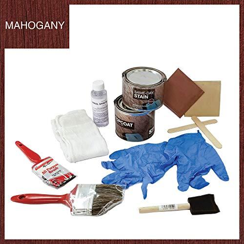 New Therma Tru Finishing Kit Mahogany Stain Kit for Fiberglass Doors