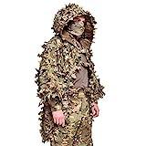 Giena Tactics Ghillie Suit Alligator 3D Russian Sniper Coats/Viper Hoods (Multicam)