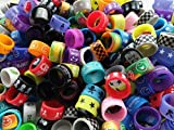 Vape Bands - CENGLORY 50 Pieces Silicone Anti Skid Vape Rings Rubber Bands