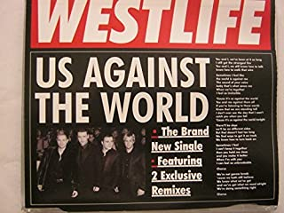 Us Against The World [2 Track CD] By Westlife (2008-03-03)