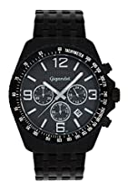 Gigandet FAST TRACK Herren Armbanduhr Chronograph Analog Quarz Schwarz Grau G12-005