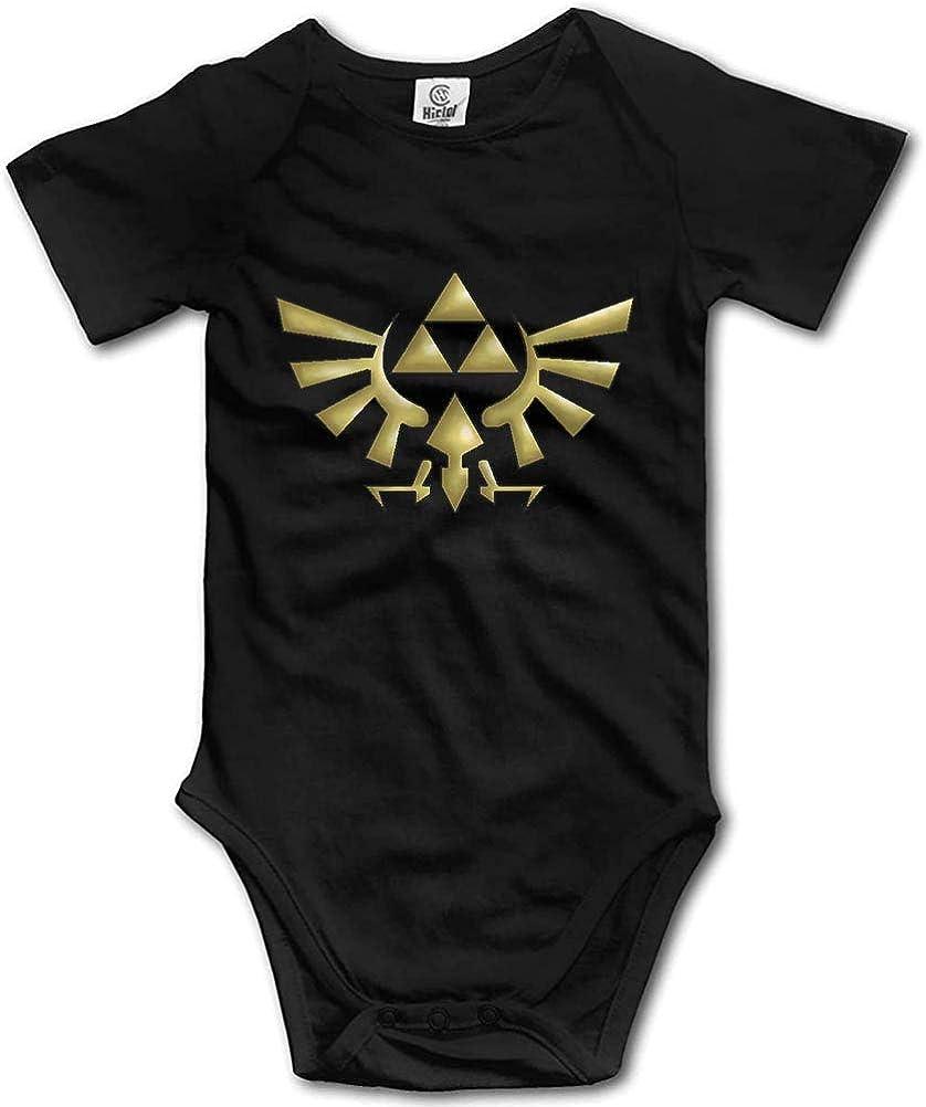 FOEVERLTF Triangle Max Dallas Mall 60% OFF Symbol Legend of Bodysuit U Zelda Romper Baby