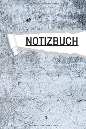 Notizbuch: Motiv Industrie Beton Architekten, Uni und Büro I Dot Grip I 120 Seiten I DIN A5 I Notizheft I matt