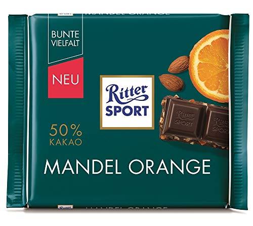 Ritter Sport Mandel Orange 50 % Kakao 10 x 100g