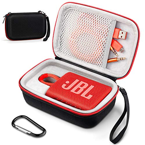 Funda JBL Go 3, Dasbulk Funda Protectora de Viaje portátil Dura EVA...