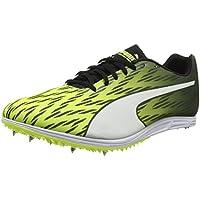 Puma Evospeed Distance 7, Zapatillas de Atletismo para Hombre, Amarillo (Safety Yellow Black White), 40 EU