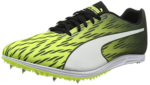 Puma Herren Evospeed Distance 7 Outdoor Fitnessschuhe, Gelb (Safety Yellow Black-White), 46 EU