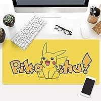 MYDFG 大型ゲーミングマウスパッドアニメモンスター拡張キーボードマウスマットゲームオフィスホーム用マウスパッド滑り止めPCデスクトップテーブルマウスパッド800x300x3MM WX0441