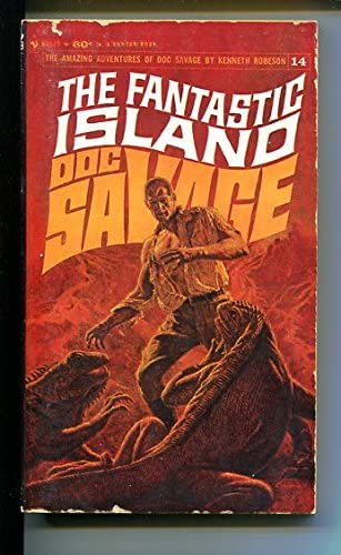 DOC SAVAGE-THE Portland Mall FANTASTIC JAMES BAMA- Clearance SALE Limited time ISLAND-#14-ROBESON-G-COVER