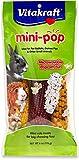 Vitakraft Mini Pop - Microwavable Mini Corn Cob Treats For Pet Rabbits, Guinea Pigs And Other Small Animals, 6.0 Ounce Bag