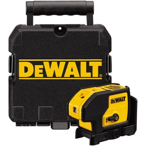 Dewalt DW083K-XJ DW083K Self Levelling Laser Point 3 Beam, 18 V, Mehrfarbig