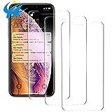 ZERAY® [3 pezzi] Pellicola in vetro temperato per iPhone XR/11. Pellicola protettiva per display in vetro temperato 9H per iPhone Xr.iPhone 11 in vetro temperato
