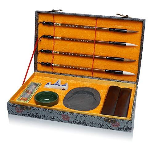 Artecho Kalligraphie Set 10-teilig, Traditionell-chinesisch, Künstlerbedarf