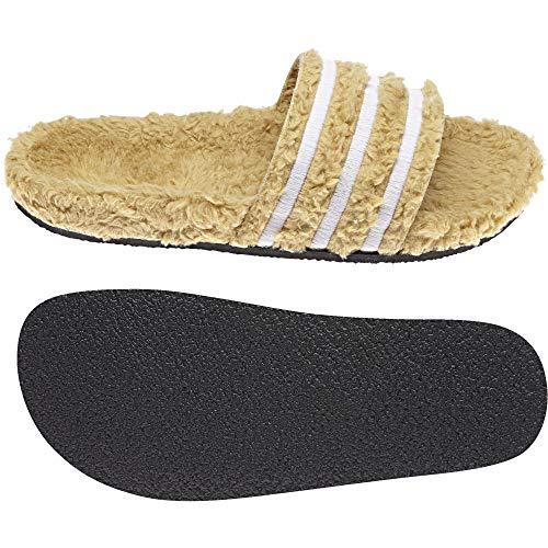 Adidas Adilette W, Damen Dusch- & Badeschuhe,Beige (Mesa/Blatiz/Negbás 000), 35 EU